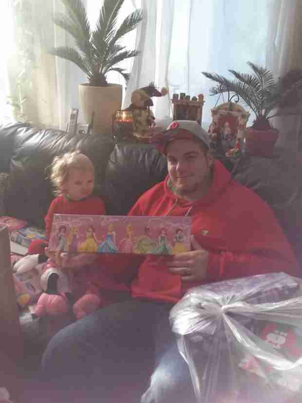 Alexandria Sekella Spends Christmas With Baby Daddy Matt McCann and Daughter Arabella