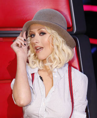 Christina Aguilera's Boyish Ensemble On The Voice  –– Hot Or Not?