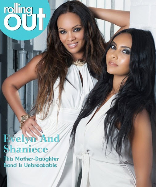 Pregnant Evelyn Lozada's Daughter Excited For New Sibling!