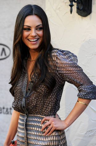 Mila Kunis and Ashton Kutcher Attend Her Brother's Wedding — See Pic!