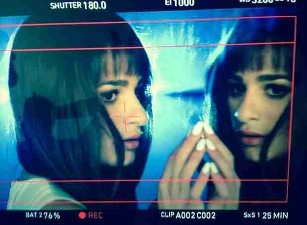 "Lea Michele Films Sexy ""Cannonball"" Music Video (PHOTOS)"
