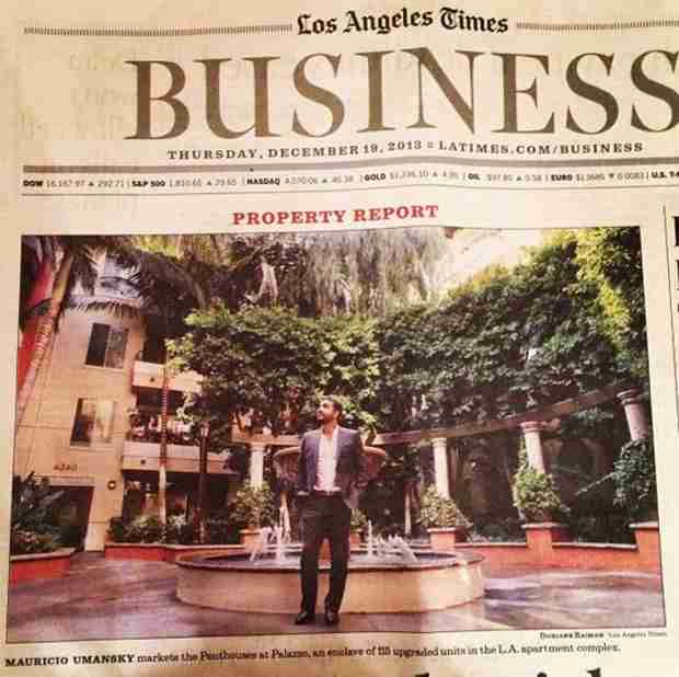 Kyle Richards's Husband Lands on the Cover of the L.A. Times — But Why?
