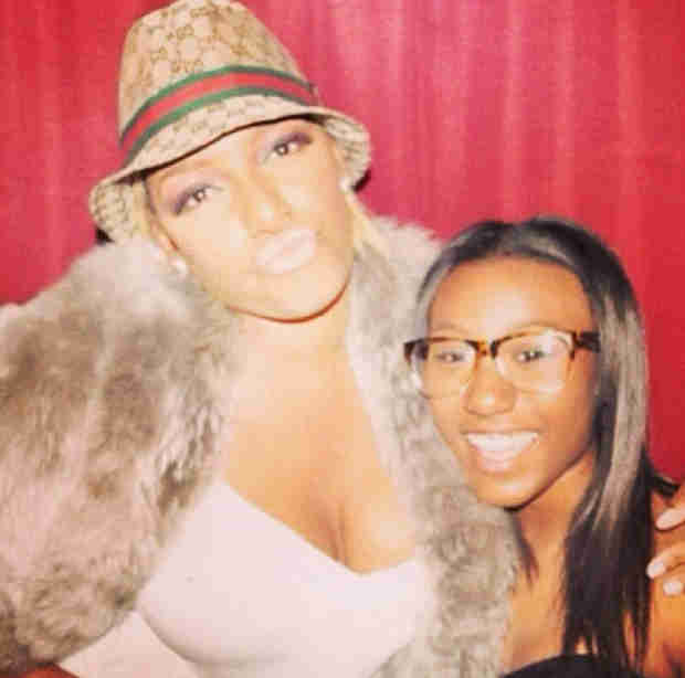 "Noelle Robinson Poses With ""Auntie"" NeNe Leakes (PHOTO)"
