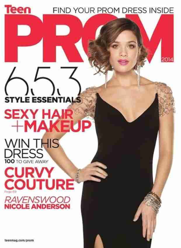 Ravenswood Star Nicole Anderson Covers TeenPROM Magazine! (PHOTO)