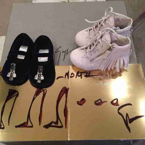 Kim Kardashian Shows Off North West's Designer Christmas Presents (PHOTOS)