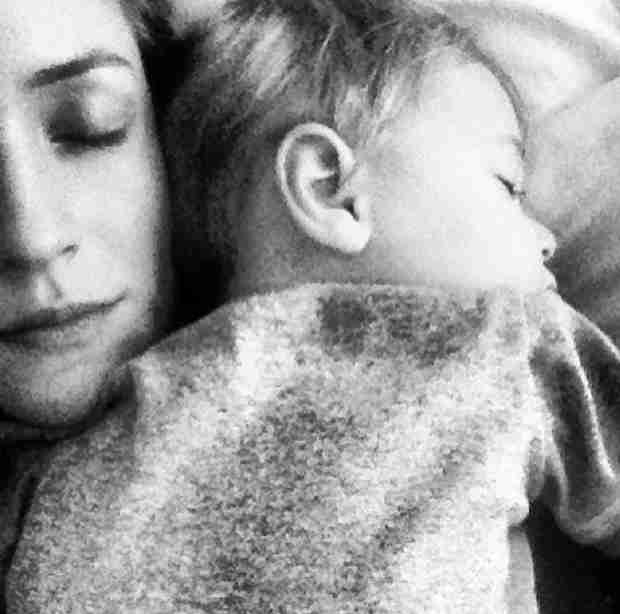 Pregnant Kristin Cavallari Posts Precious Pic Cuddling With Son Camden (PHOTO)
