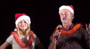 Watch Emma Stone and Bill Murray's Surprise For the Troops Stationed in Hawaii! (VIDEO)
