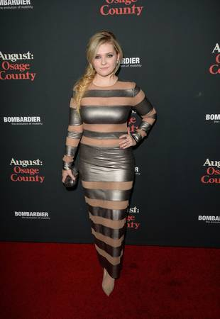 Abigail Breslin Is All Grown-Up! See Her Sexy Cutout Dress (PHOTO)