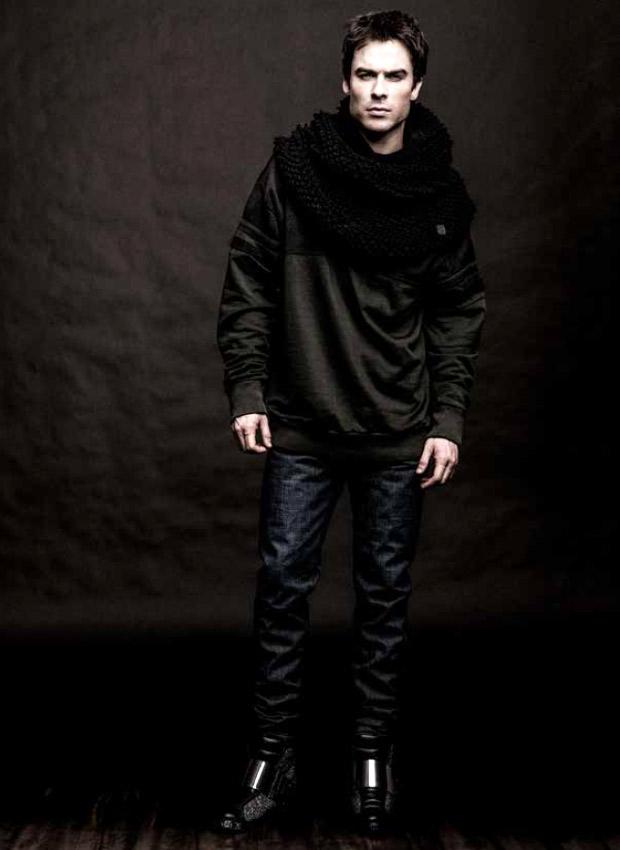 Vampire Diaries Star Ian Somerhalder Reveals His Style Secrets — How Does He Look So Good?