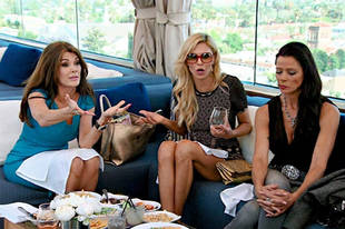 "Lisa Vanderpump Feels Like a ""Bloody Moron"" For Ever Supporting Brandi Glanville"
