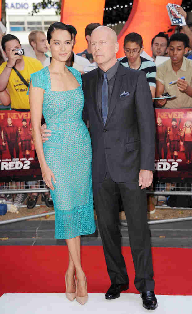 58-Year-Old Bruce Willis's Second Wife Is Pregnant!