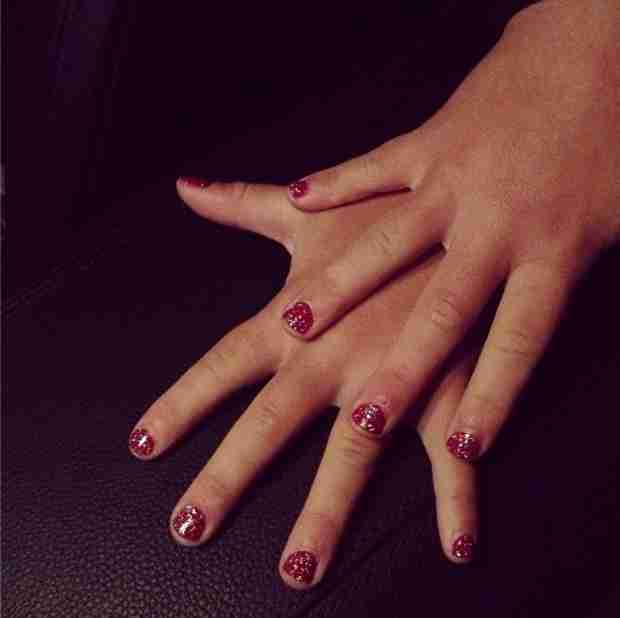 Melissa Gorga and Antonia Get Mommy-Daughter Manis… So Cute!