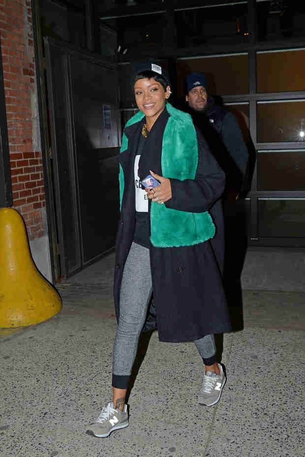 Rihanna Wears $12 Jogging Pants — They Sell Out Immediately