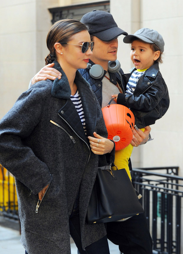 Orlando Bloom, Miranda Kerr and Son Spend Christmas Eve Together, Despite Recent Split