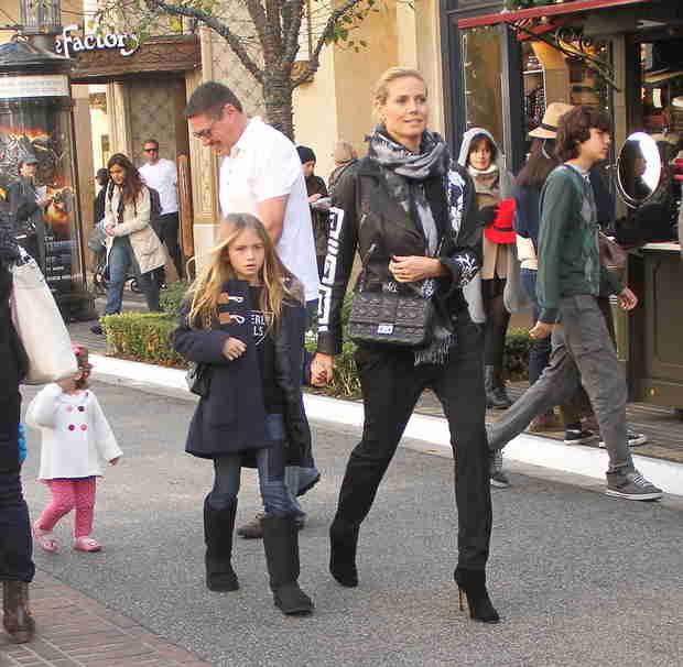 Heidi Klum's Daughter, Leni: A Blonde Mini-Me (PHOTO)