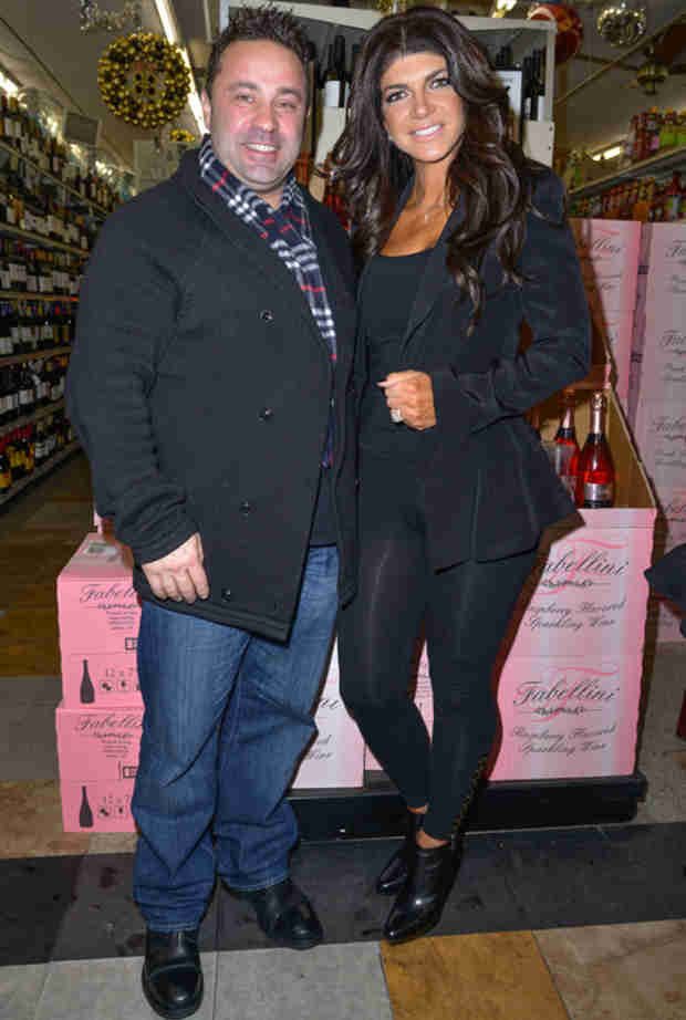 Teresa and Joe Giudice Stay Busy by Promoting Fabellini
