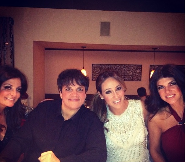 Melissa Gorga and Teresa Giudice Share Special Christmas Dinner!