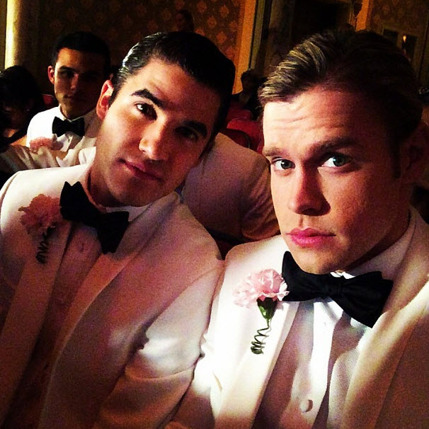 Glee Music Spoiler: Watch Blaine Sing THIS Classic Rock Song at Nationals (VIDEO)