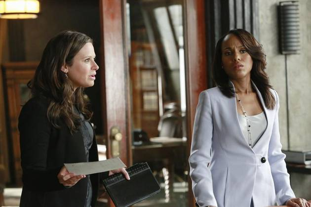 Season 3 Spoilers: Will Quinn Keep Working for Olivia Pope? Katie Lowes Says…