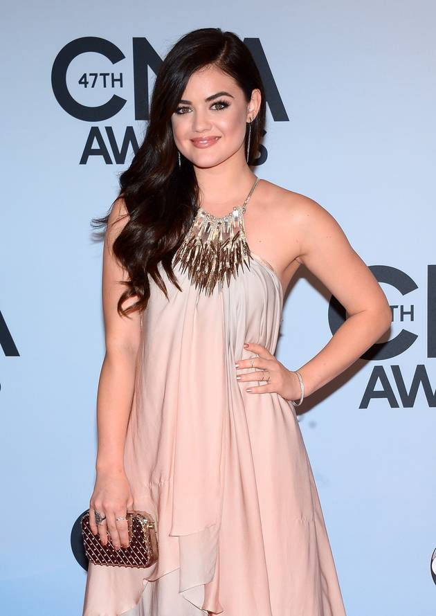How Did Lucy Hale Celebrate the Holidays? By Eating THIS Surprising Meal!