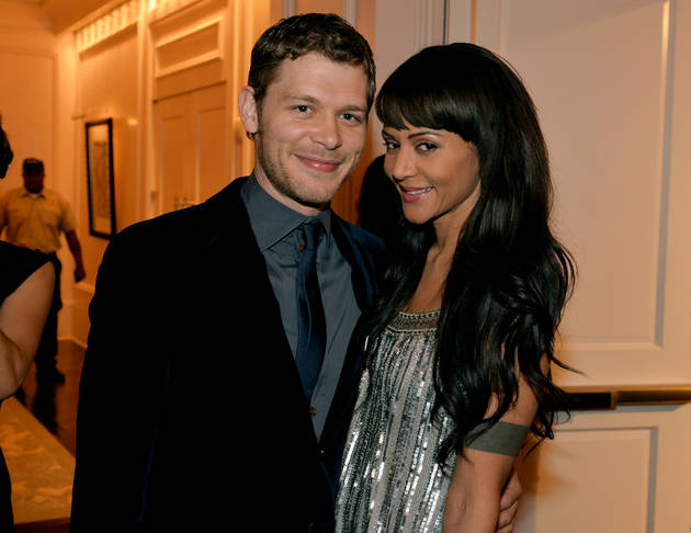 Joseph Morgan and Girlfriend Persia White Spend the Holidays Together in the UK