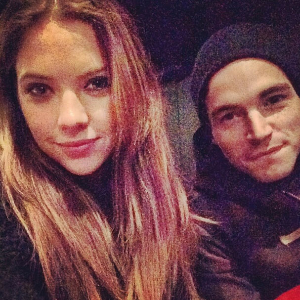 Pretty Little Liars Stars Ashley Benson and Ian Harding Support Keegan Allen in NYC (PHOTO)