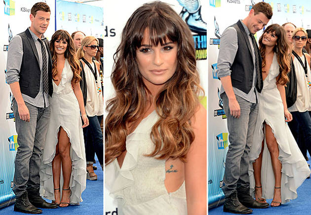 Lea Michele Confirms She and Cory Monteith Had Matching Tattoos