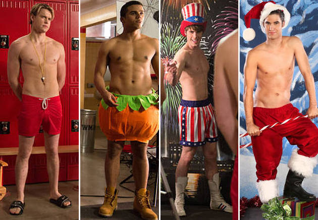 Glee's Top 5 Shirtless Moments of All Time