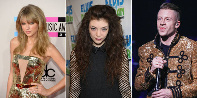 2014 Grammy Award Nominees List — Taylor Swift, Macklemore, Lorde, and More!
