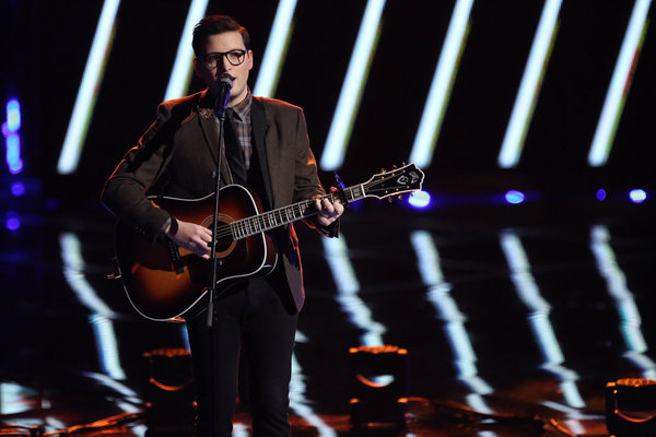Watch James Wolpert Sing on The Voice 2013 Live Shows, Dec. 2, 2013 (VIDEO)