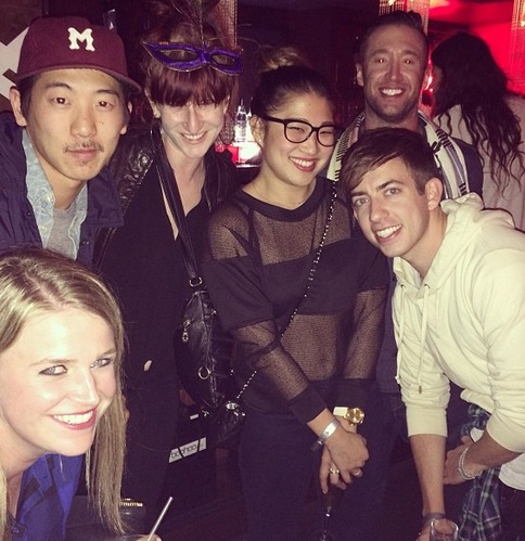 Glee Stars at Beyonce Concert — With One of Their Own on Stage!