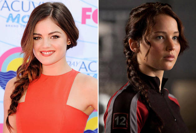 What Do Lucy Hale and Katniss Everdeen Have in Common? You'll Never Guess!