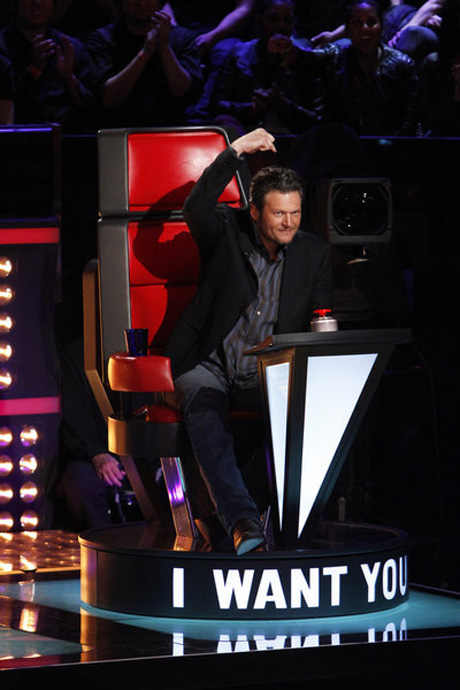 Christina Aguilera Dishes on What's in Blake Shelton's Cup on The Voice