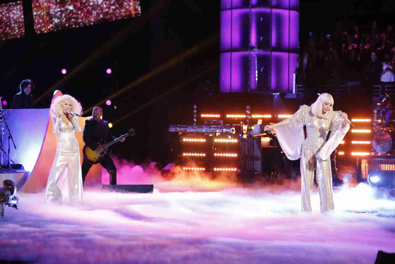 Watch Lady Gaga and Christina Aguilera Sing on The Voice 2013 Finale, Dec. 17, 2013 (VIDEO)