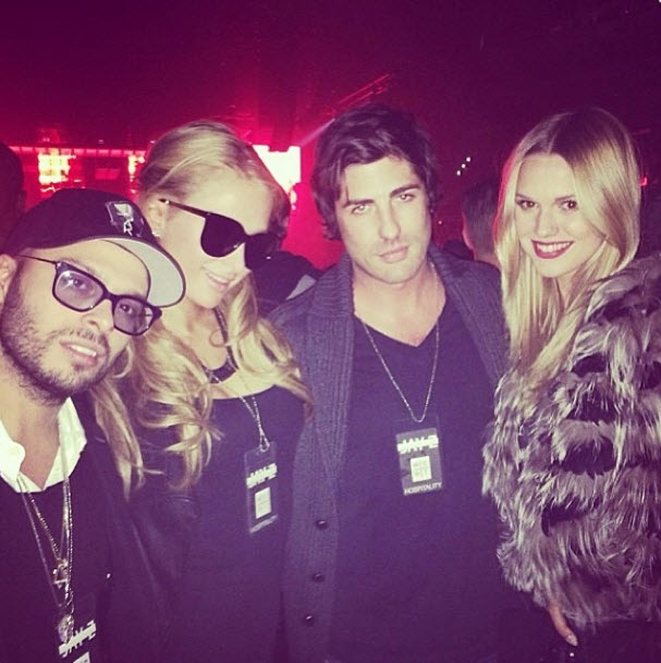 Paris Hilton Hangs Out With Lindsay Lohan Rival Brandon Davis in Midst of Feud