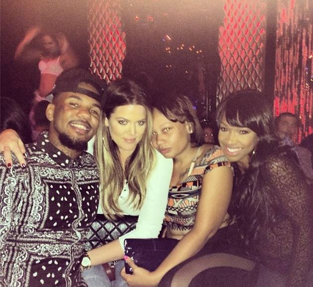 Khloe Kardashian and The Game: Doing What on Christmas Eve?