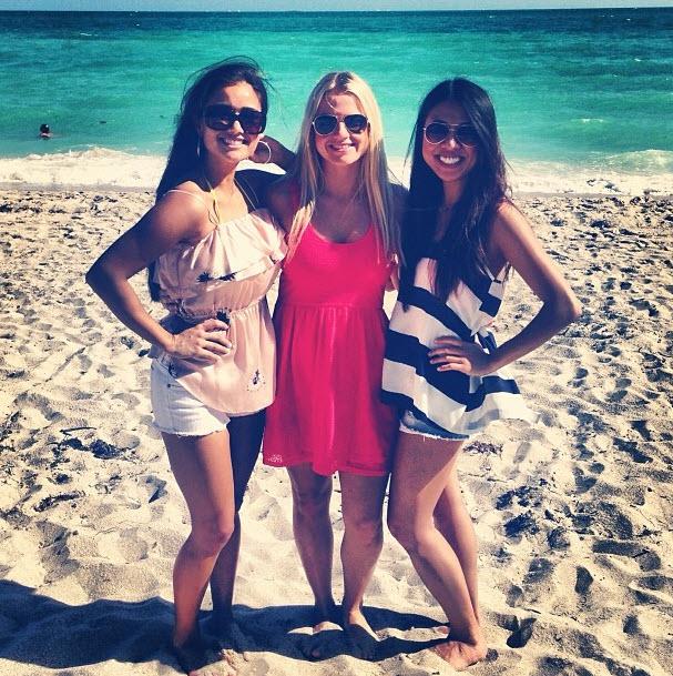 Catherine Giudici Spotted at Miami Bachelorette Party — Check Out Her Bikini Body!