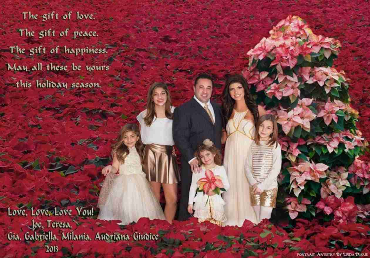 Check Out the Giudice's Gorgeous Holiday Card Photoshoot