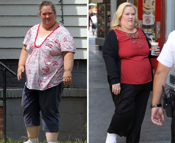 Mama June's Weight Loss Transformation — What a Difference a Year Makes! (PHOTO)