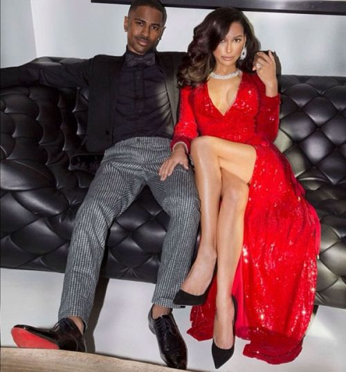Whoa — Check Out The Bling Big Sean Gave Naya Rivera for Christmas (PHOTO)