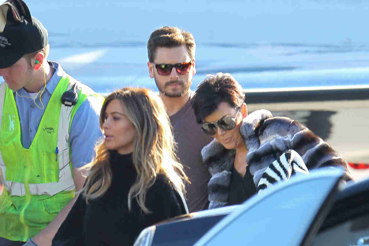 Kim Kardashian and Kanye West Take the Family to Aspen — But Who's Missing?