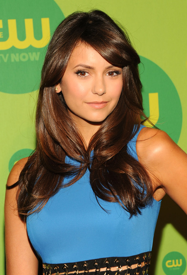 Vampire Diaries Star Nina Dobrev Goes Snowboarding With Derek and Julianne Hough! (PHOTO)