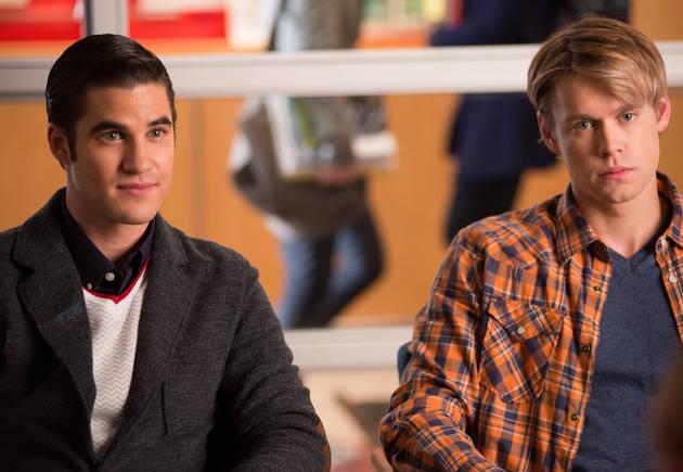 Glee Season 4 Romance: Is Blaine About To Make a Move on Sam?