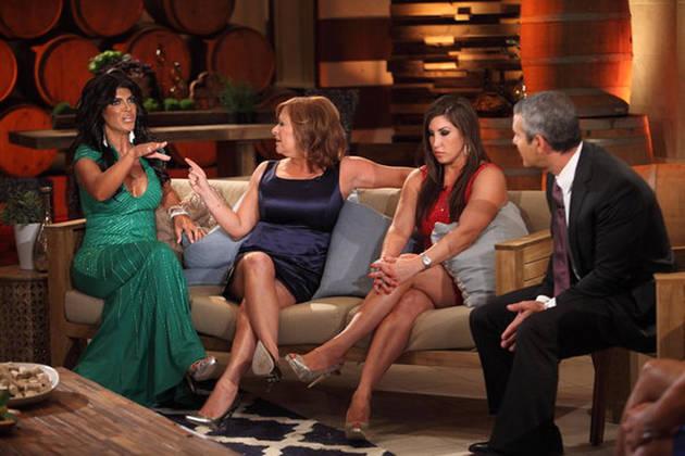 Teresa Giudice, Melissa Gorga, and Caroline Manzo Go to Therapy in Season 5!