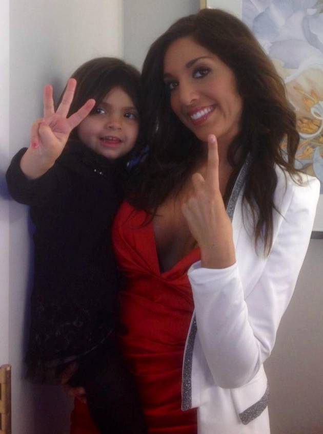 Farrah Abraham's Daughter Sophia Turns 4 on February 23!