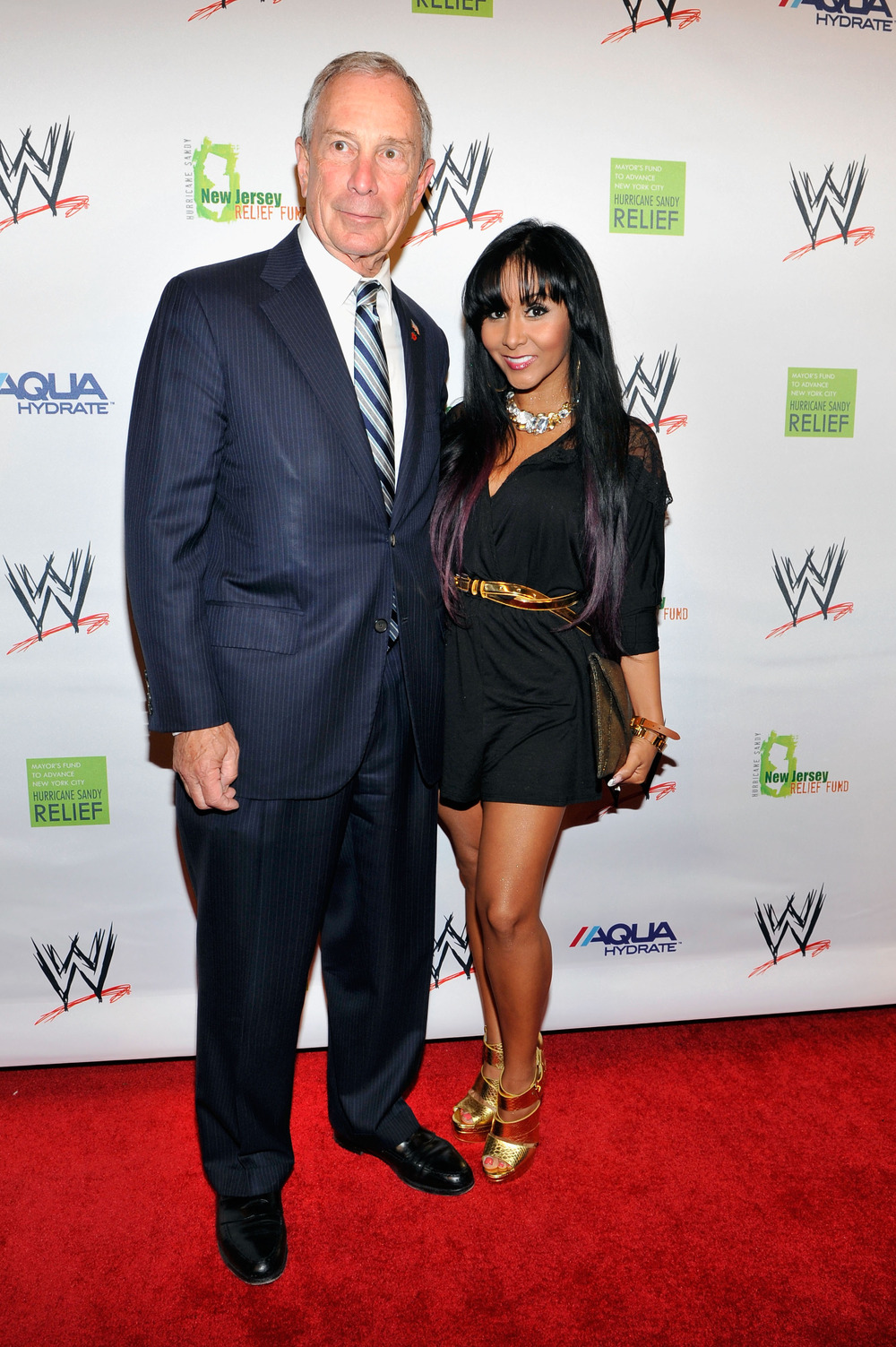 Jersey Shore Stars Reunite for Sandy Relief: Spotted in NYC (PHOTOS)