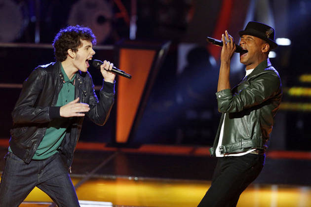 Who Won the Battle Rounds on The Voice 2013 Battle Rounds on April 15?
