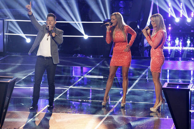 Who Won Battle Rounds on The Voice 2013 on April 23, 2013?