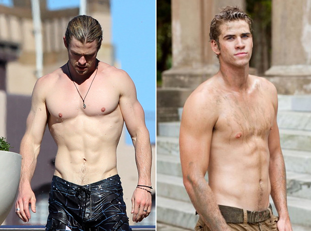 Chris Hemsworth vs. Liam Hemsworth: Who Has the Hotter Body?