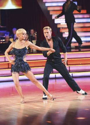 Kellie Pickler and Derek Hough Celebrate Dancing With the Stars Win